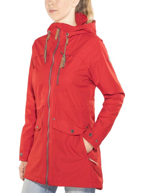 Five Seasons Evelin Jacket Women dark red